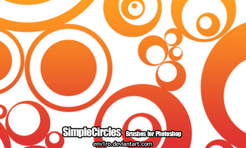 Simple Circles brushes