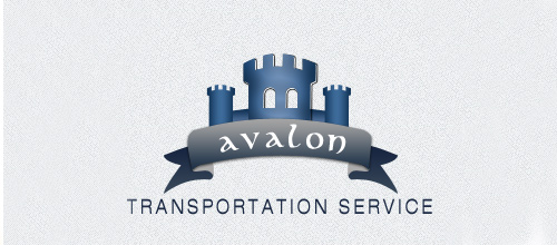 Trasportation castle logo