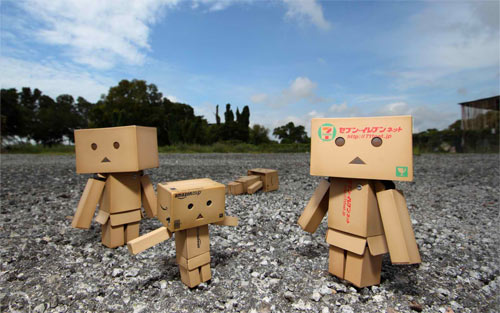 Danbo Family wallpaper
