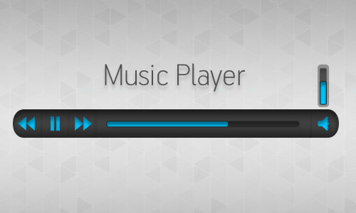 Music Player (Free PSD)