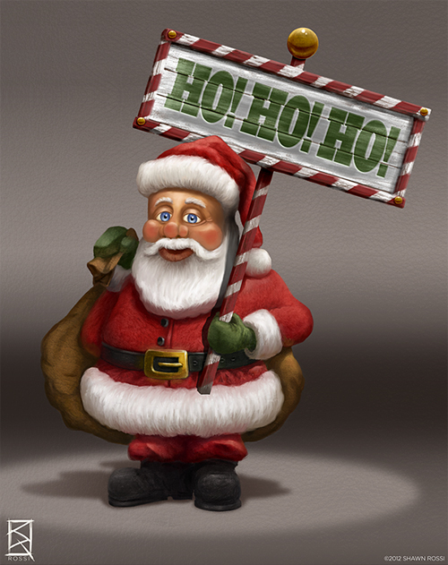 Adorable santa claus christmas artworks illustrations