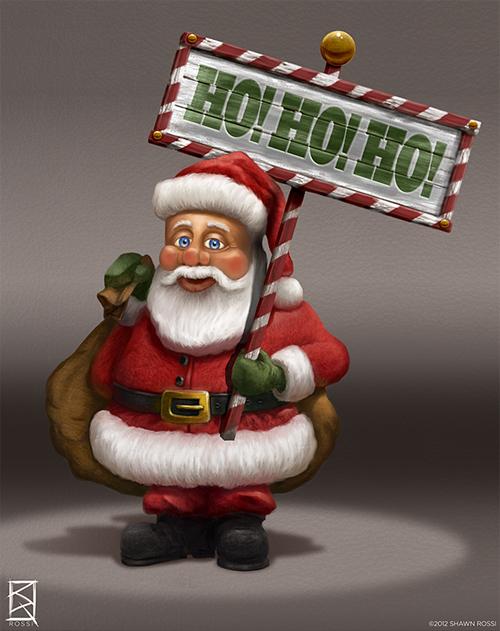 Adorable santa claus christmas artworks illustrations