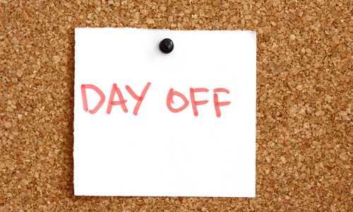 Have a day-off