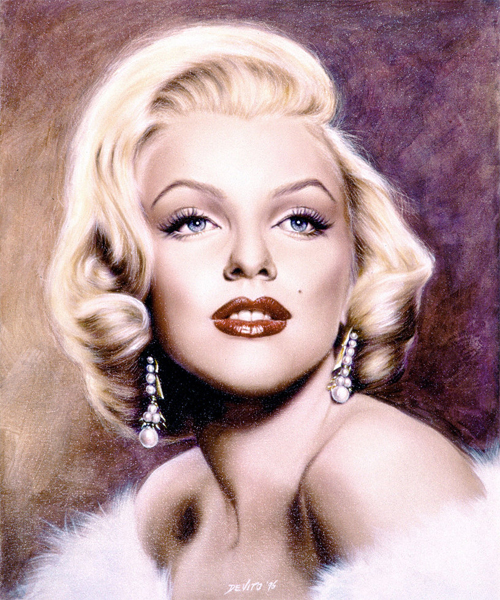 Fabulous marilyn monroe artworks illustrations
