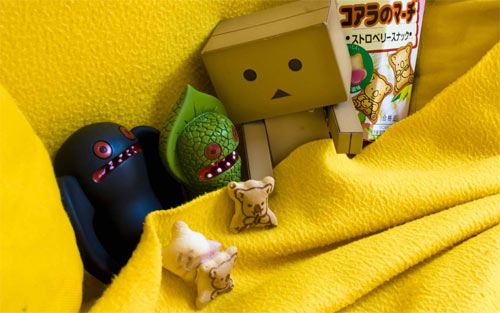 Danbo and friends_39234 Wallpaper