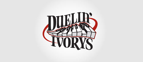 Duelin' Ivorys logo