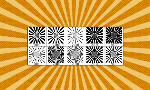 10 High Resolution Sunburst Brushes