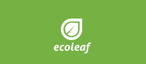 Eco environment leaf logo