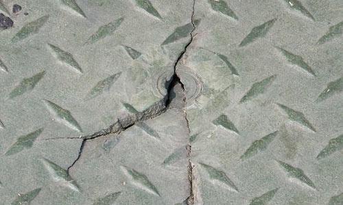 Cracked Diamond Plate Texture