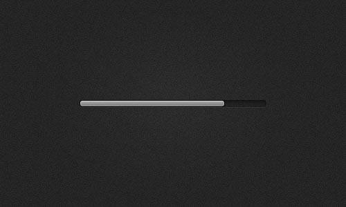 Loading Progress Bar PSD