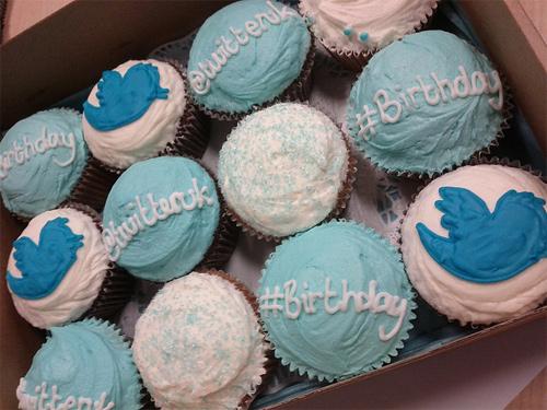 Twitter birthday cupcake design inspiration