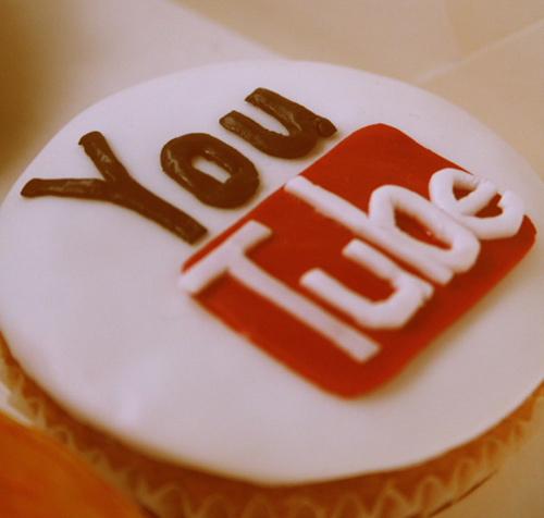 Youtube icon cupcake design inspiration