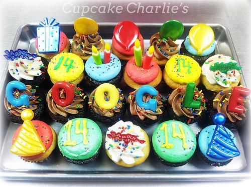 Google cupcake design inspiration