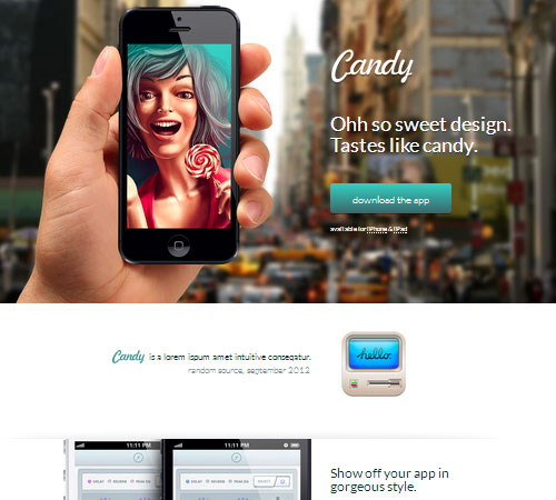 Candy - App Showcase