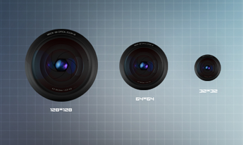 Lens HD icons