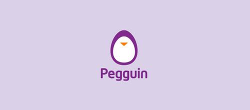 Pegguin logo