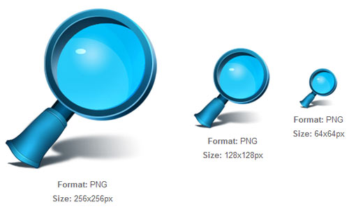 3D Search icon