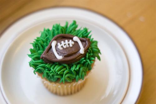 Football cupcake design inspiration