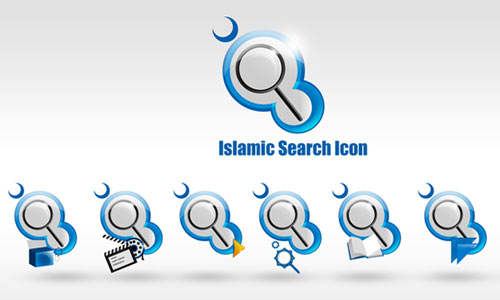 Islamic Search Icon