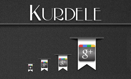 Kurdele Google Plus icon