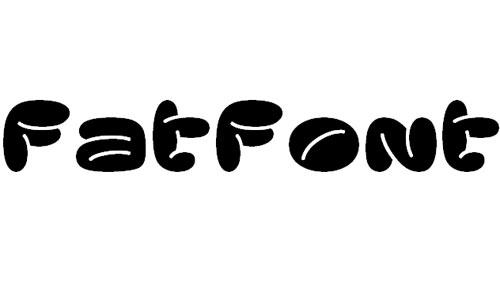 fatfont font