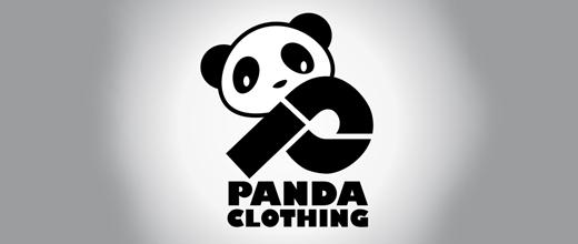 Clothing panda logo