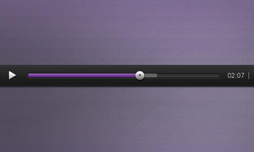 Audio Player PSD