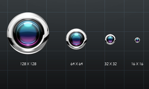 Lens icons