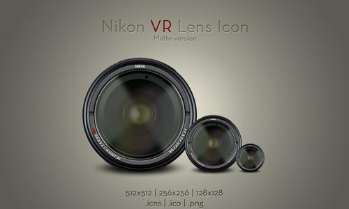 Nikon VR Lens Icon v1