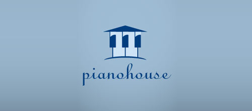 piano house logo