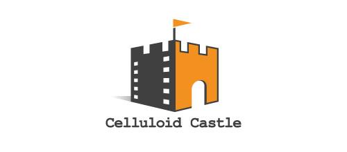 Film movie company castle logo