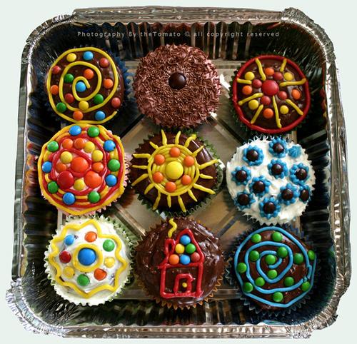 Fun nice cupcake design inspiration