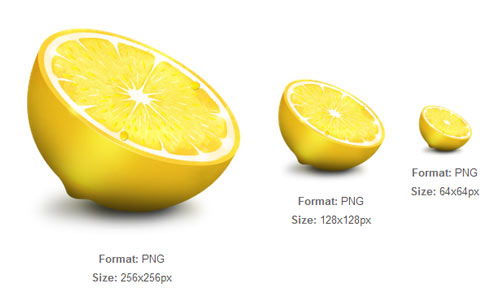 Sliced Lemon Icon