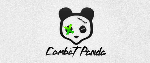 Fighter panda logo