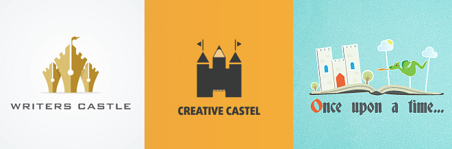 30 Inspiringly Charming Castle Logos