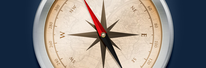 Create a Realistic Compass Illustration in Photoshop
