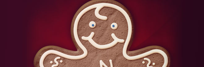 How to Create a Gingerbread Cookie in Photoshop