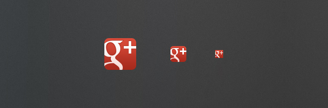 30 Various Google Plus Icon for Free Download