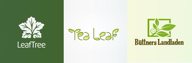 30+ Fresh and Lovely Leaf Logo Designs