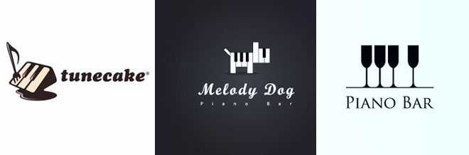 30 Creative Designs of Piano Logo for your Inspiration