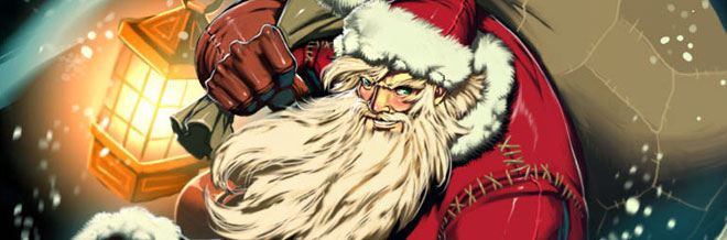 30 Creative Illustrations of the Christmas Man: Santa Claus