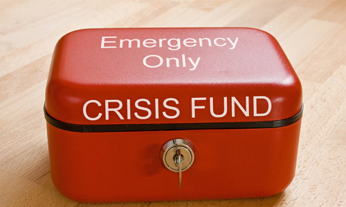 Have emergency funds