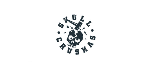 Crush skull logo