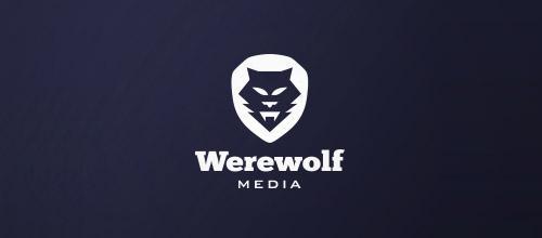 werewolf wolf logo