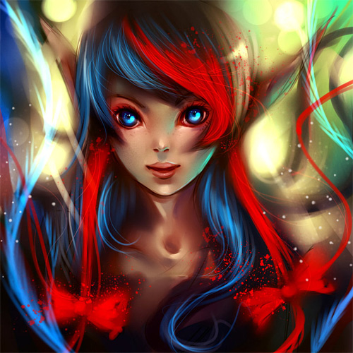Amazing elf elves illustrations artworks
