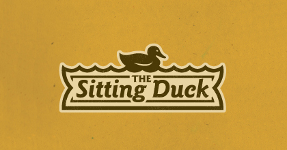 Yellow ducks logo design