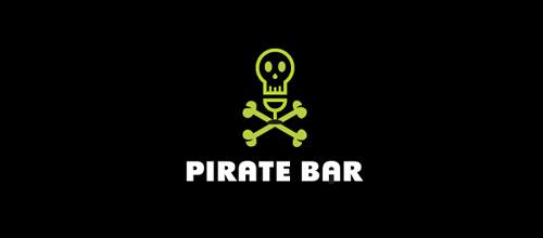 Bar skull logo