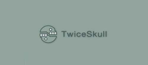 Cool skull logo