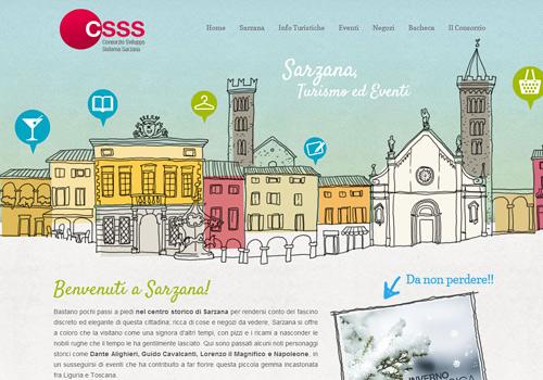 Italian doodle web design