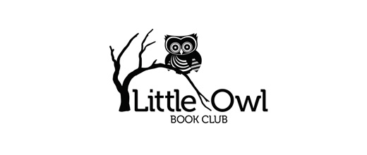 Book club owl logos